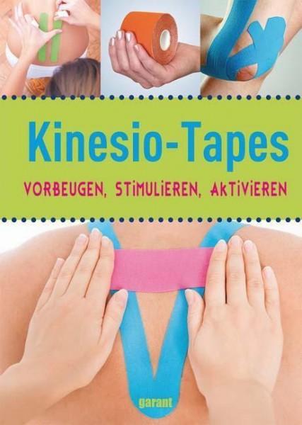 Buch: Kinesio-Tapes vorbeugen stimulieren aktivieren, die bunten Bänder richtig einsetzen