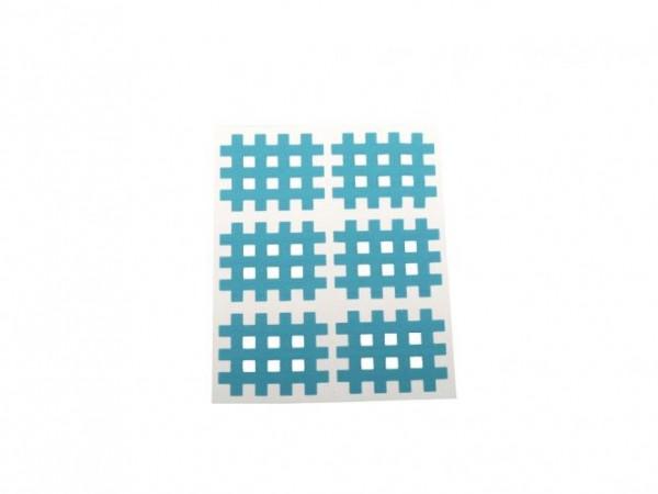 Gatapex Akupunkturpflaster blau (6 Gittertapes, 2,8 cm x 3,6 cm)