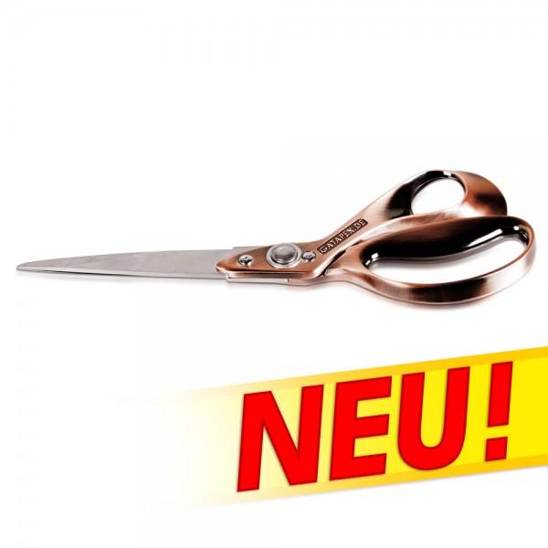 Superscharfe Rechtshänder Schere Gatapex komplett aus Metall 25cm lang und 235gr