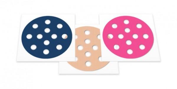 Gatapex große Akupunkturpflaster rund (40 Pflaster, Durchmesser 44 mm, gemischte Farben)