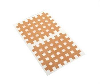 Gatapex Akupunkturpflaster beige (10 Gittertapes, 4,4 cm x 5,2 cm)