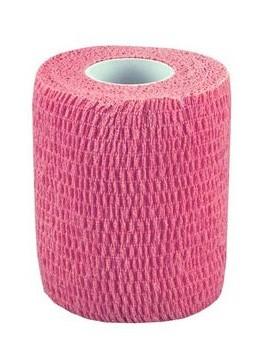 Sportbandage/ dauerelastische Binde pink (5 m x 7,5 cm)