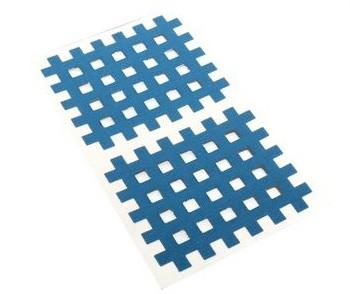 Gatapex Akupunkturpflaster blau (10 Gittertapes, 4,4 cm x 5,2 cm)