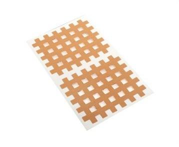 Gatapex Akupunkturpflaster beige (40 Gittertapes, 4,4 cm x 5,2 cm)