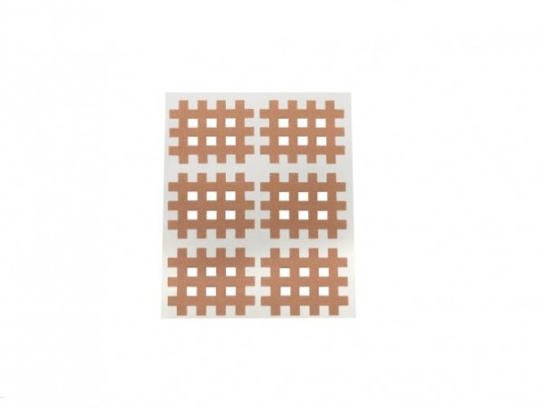 Gatapex Akupunkturpflaster beige (120 Gittertapes, 2,8 cm x 3,6 cm)
